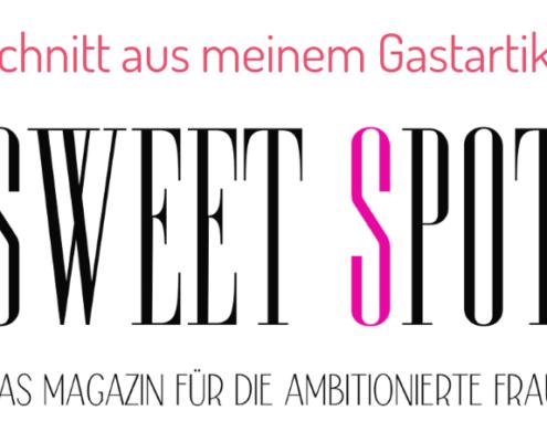 Sweet Spot - aus Vorsätzen Ziele machen